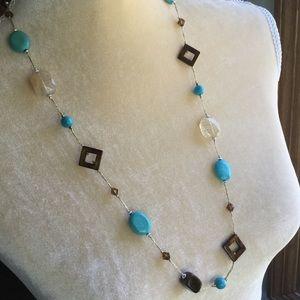 Premier Designs Glass Bead Necklace